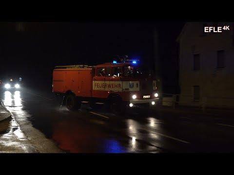 [Sirenenalarm + Inside View] Einsatzübung Feuerwehr Lobstädt