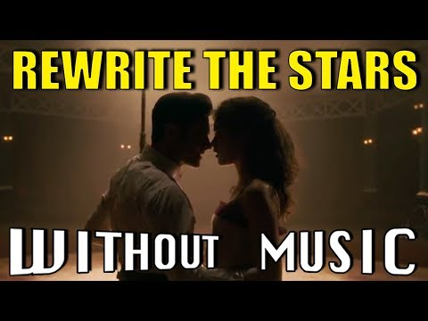 THE GREATEST SHOWMAN - Rewrite The Stars...