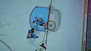 Easy way to score in NHL 09 Be-A-Pro Mode
