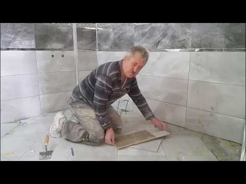 Seramik çapraz Döşeme Aparatı (How To Cut Diagonal Tile On Floor)