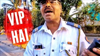 Mumbai Traffic Police VIP Culture Dadagiri | Corruption Fines | Must Watch Video
