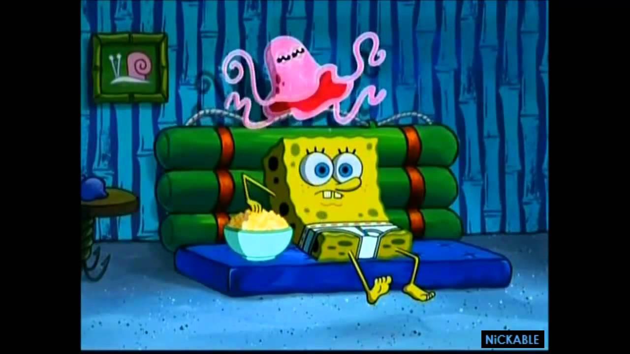 SpongeBob catching a jellyfish - YouTube |Jellyfish From Spongebob