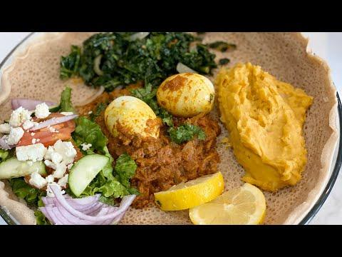 zigni Ethiopian  Dish/qado aad u macaan badan oo canjeero iyo maraq ethopian ah