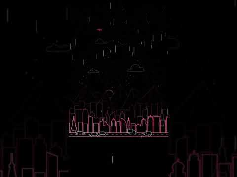 Rainy Pink City