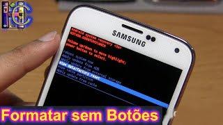 📹Como Formatar Qualquer Samsung Android sem Usar Botões