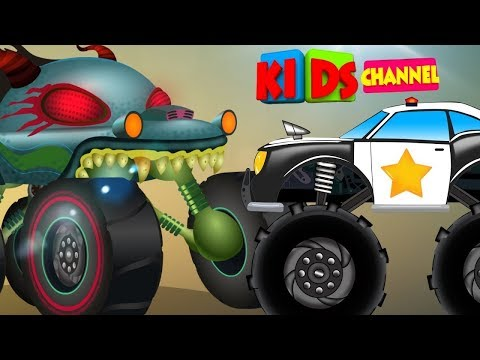 Nursery Rhymes & Kids Songs   Vehicle Videos For Babies   Kids Car Cartoon Show
