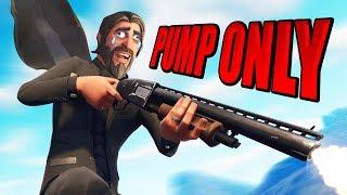 PUMP SHOTGUN ONLY CHALLENGE