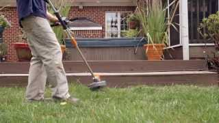 LawnMaster 40V Cordless Pro-Style Grass Trimmer