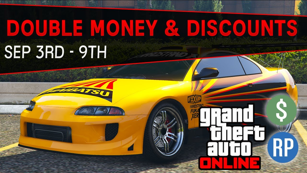 GTA Online Double Money and Discounts This Week (GTA 5 Event Week) | Sep 3rd- 9th