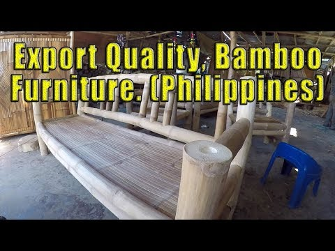 Export Quality Bamboo Furniture Made In The Philippines