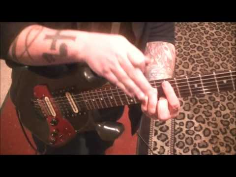 Five Finger Death Punch - Bad Company - Guitar Lesson by Mike Gross