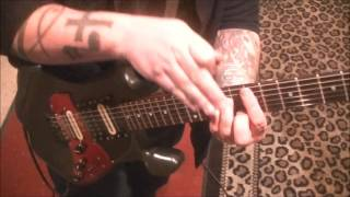 Five Finger Death Punch Bad Company Guitar Lesson By Mike Gross