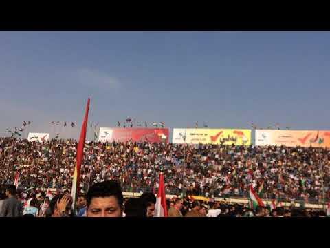 Kurdistan referendum - duhok party