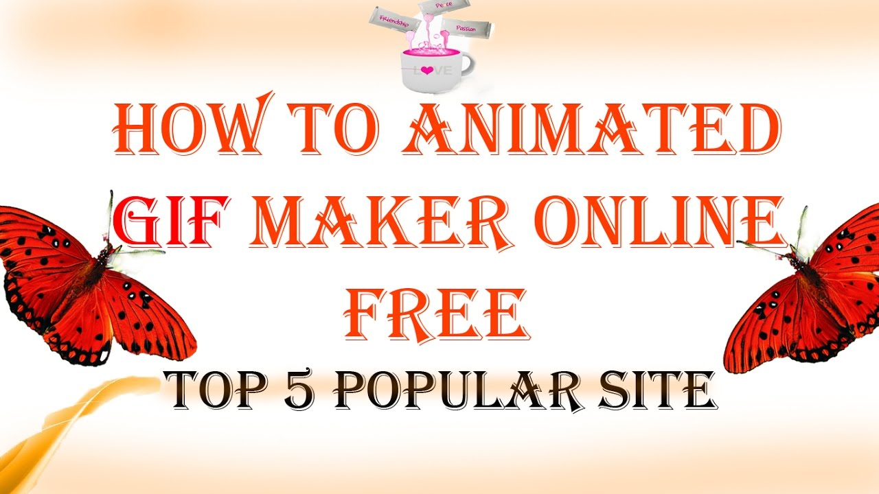 How to animated gif maker online free youtube how to animated gif maker online free negle Gallery