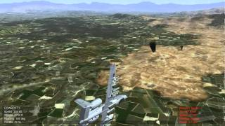 A-10 Convoy Attack in Wings over Europe