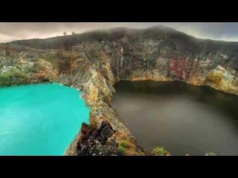 """MOUNT KELIMUTU, """"El Lago de los espíritus malignos"""""""