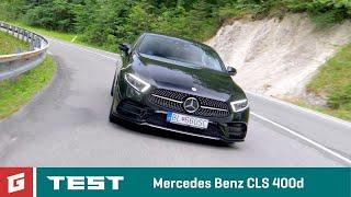 Mercedes Benz CLS 400d - 2018 -  TEST - GARÁŽ.TV