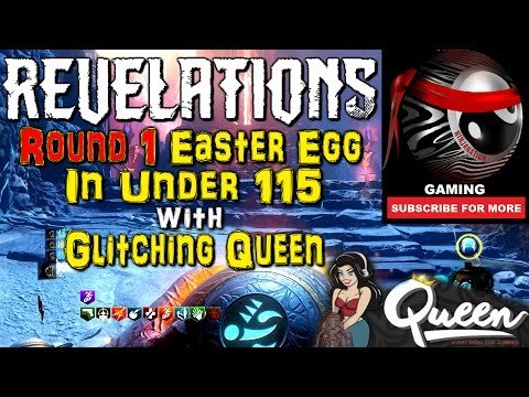 "NEW ROUND 1 WORLD RECORD ""REVELATIONS"" MAIN EASTER EGG W/ Glitching Queen 