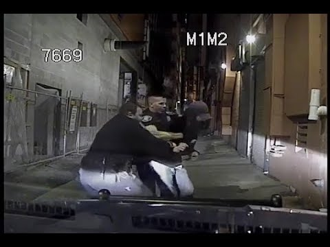 Man Attempts To Resist Arrest By Seattle Police