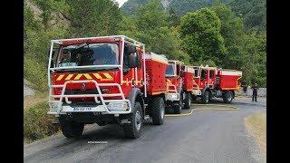 Nouveau départ feu de forêt à St Croix, Drôme (SDIS 26)⎪Forest Fire in Drome, France