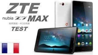 ZTE Nubia Z7 Max test fr