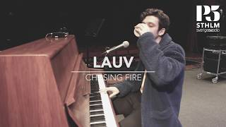 LAUV - CHASING FIRE at P5 STHLM (Acoustic Version)