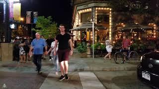 Walk Here: Boulder Colorado Evening - Pearl Street Mall - 4K/UHD 60fps