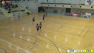 【 白梅学園 vs 那覇西 】 前半 SANIX CUP U -17 HANDBALL INTRENATIONAL TOURNAMENT