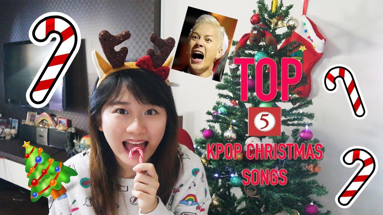 Top 5 Kpop Christmas Songs [Charissahoo] - YouTube