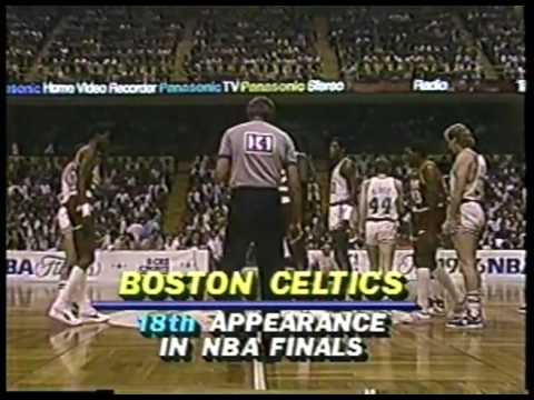 NBA - 1986 Finals - Boston Celtics VS Houston Rockets - Game 1 imasportsphile.com