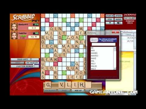 Scrabble - Pogo Games - Co-op With Yoshiller [6] [Final]