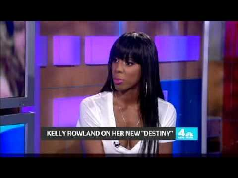 Kelly Rowland - Interview (New York Live)