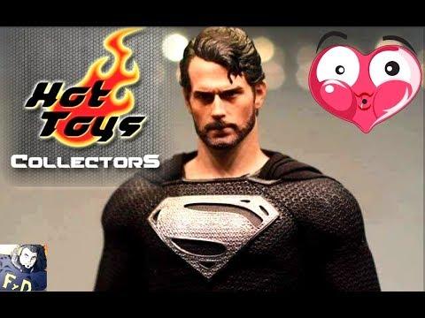 HOT TOYS SUPERMAN BLACK SUIT JUSTICE LEAGUE...LA VERDAD Y ¿QUE CAMBIARIAS DEL DCEU DE WARNER ?