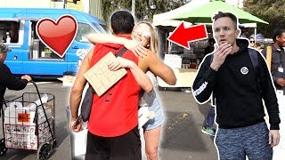 GIVING FREE HUGS TO STRANGERS IN STREET! ❤️