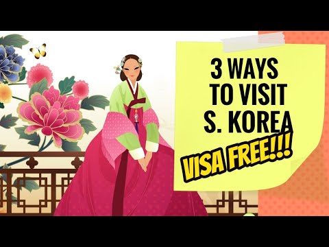 3 Ways To Get 'Visa-Free' Entry In South Korea