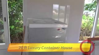 20 Ft Luxury Container House In Suriname