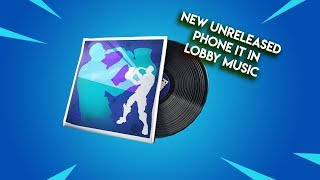 Fortnite | New Leaked Saxy Groove Lobby Music! (Phone It In Remix)