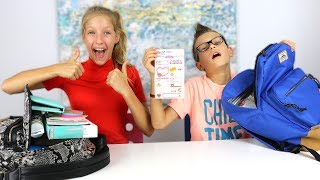 Mystery Box of Back to School Switch-Up Challenge!!! Part 2