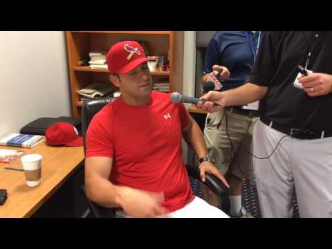 Cardinals manager Mike Matheny on filling In for Matt Carpenter