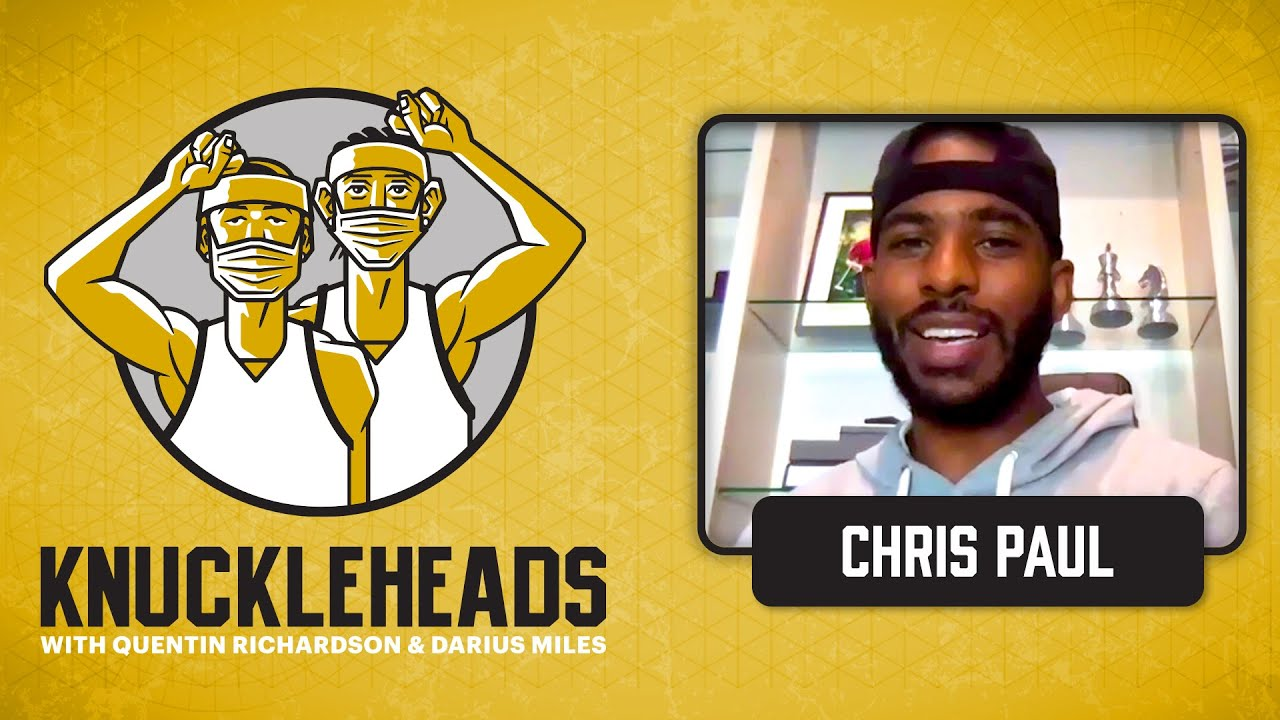 Chris Paul aka CP3 Joins Q and D | Knuckleheads Quarantine: E4 | The Players' Tribune