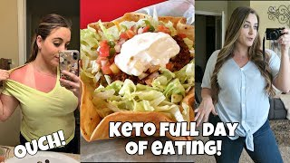 Keto Full Day of Eating Vlog | Disc Golf Fun | Try On Haul | I Made a Mistake....