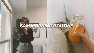 6AM MORNING ROUTINE (relaxing & healthy habits)