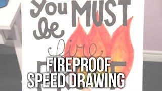 Speed Drawing: Fireproof by One Direction