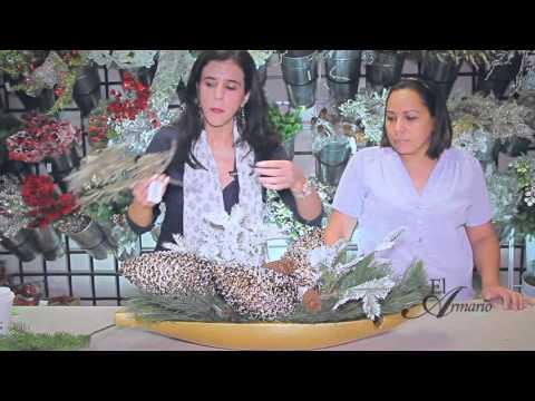 Adornos Navideños: Arreglos Florales Navideños