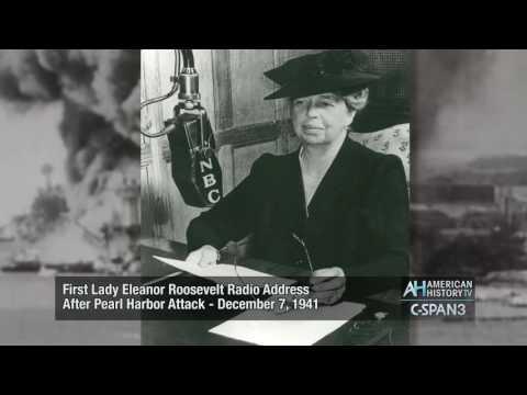 Eleanor Roosevelt Pearl Harbor Attack Radio Address Dec. 7, 1941