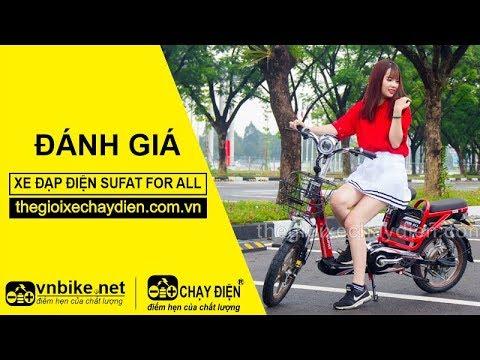 Đánh giá xe đạp điện Sufat For All