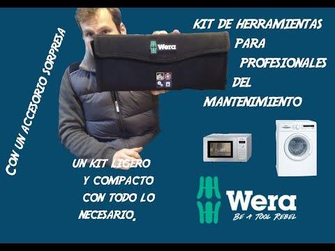 #WERA - Kit De Herramientas Para Los Profesionales Del Mantenimiento - Kraftform Kompakt W 1