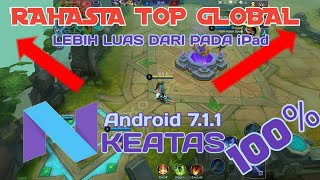 Rahasia Top Global | Cara Memperluas Map Mobile Legends
