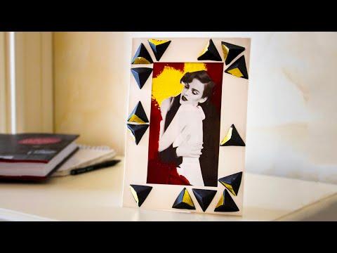 Как сделать коллаж в бумажной рамке своими руками