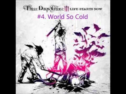 Top Ten Three Days Grace Tracks (IMO)